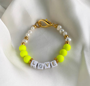 Fluo LOVE yellow