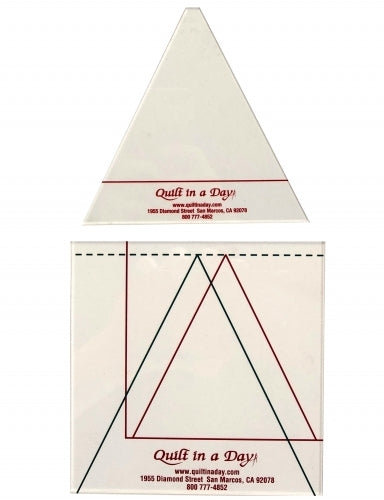 Quilt in a Day : TRIANGLE IN A SQUARE TEMPLATE