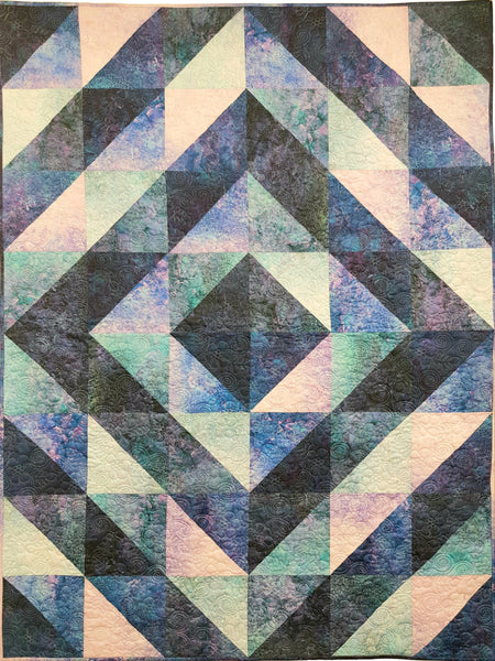 GRADATIONS quilt kit. Stonehenge Gradations Ombre. Fabric Focus