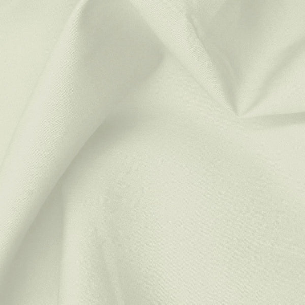 cotton poplin. ivory. Fabric Focus