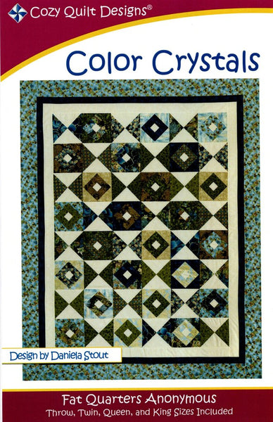 Cozy Quilt Designs : COLOR CRYSTALS patchwork pattern