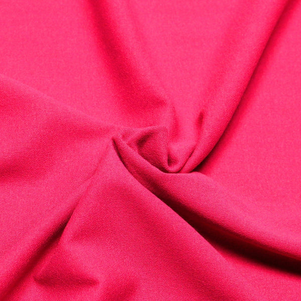 stretch crepe pink