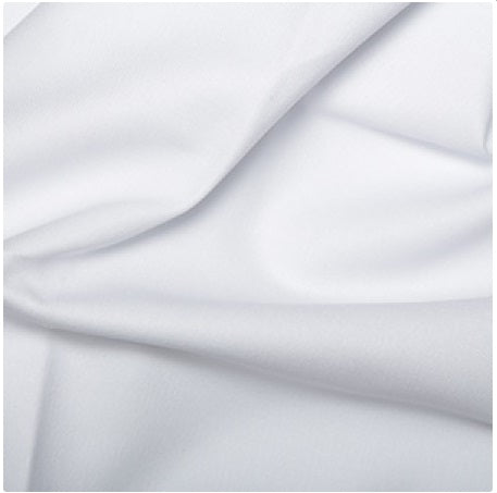 Cotton Drill - White