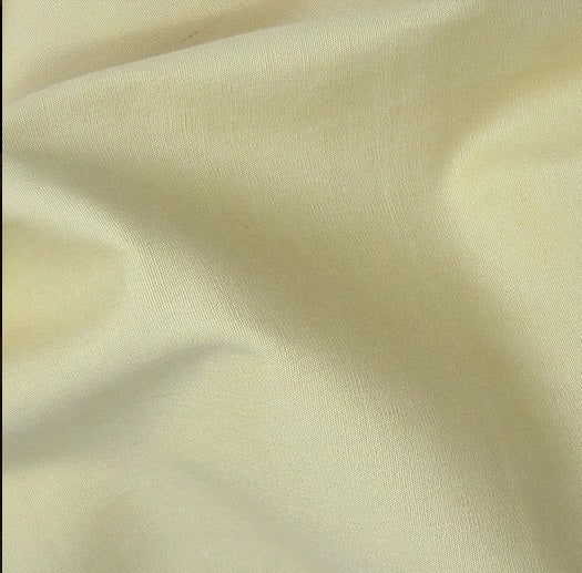 Cotton Poplin - Cream