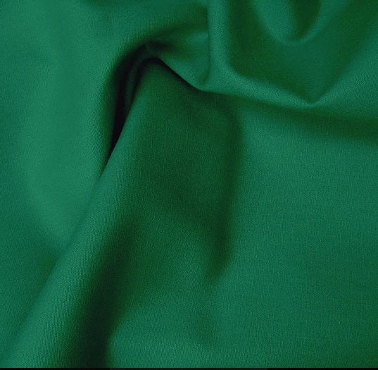 Cotton Poplin - Forest Green