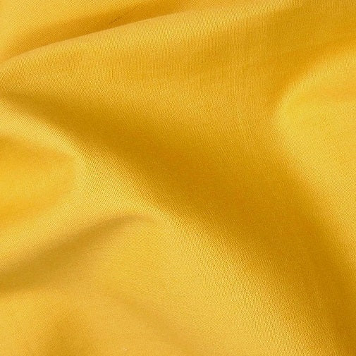 Cotton Poplin - Yellow