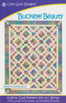 Cozy Quilt Designs : BUCKEYE BEAUTY patchwork pattern