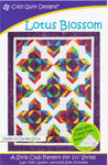 Cozy Quilt Designs : LOTUS BLOSSOM Patchwork pattern