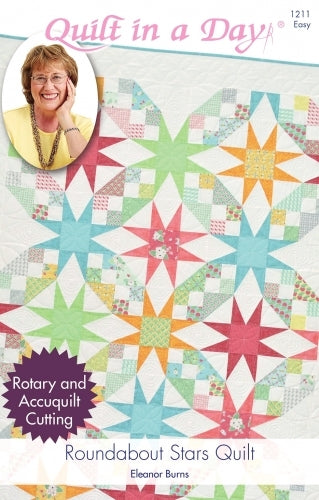 Quilt in a Day : ROUNDABOUT STARS