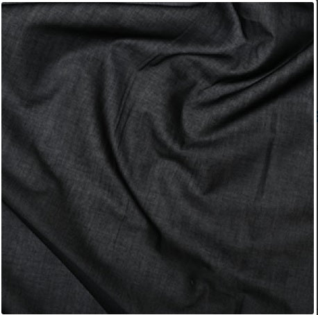 Fusible Cotton Interfacing - Lightweight - Black