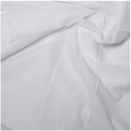 Fusible Cotton Interfacing - Lightweight - White