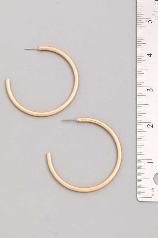 The Thick Hoops | Gold