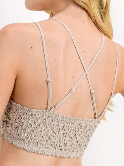 One + Only Bralette | Champagne