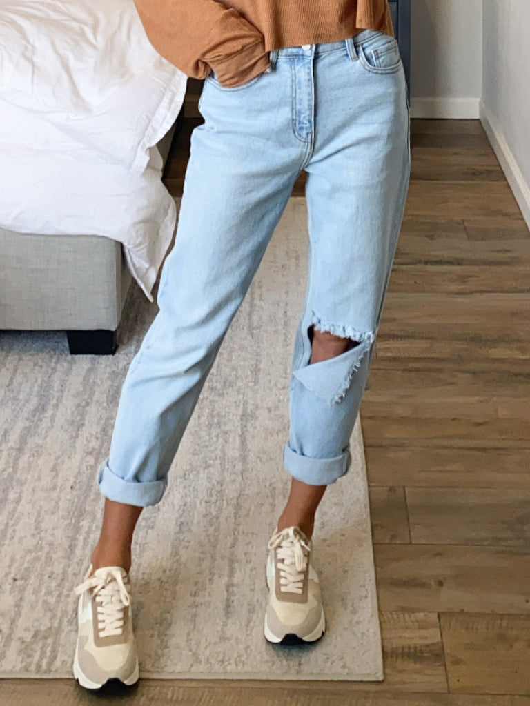 Sutton High Rise Mom Jeans | +Plus Available