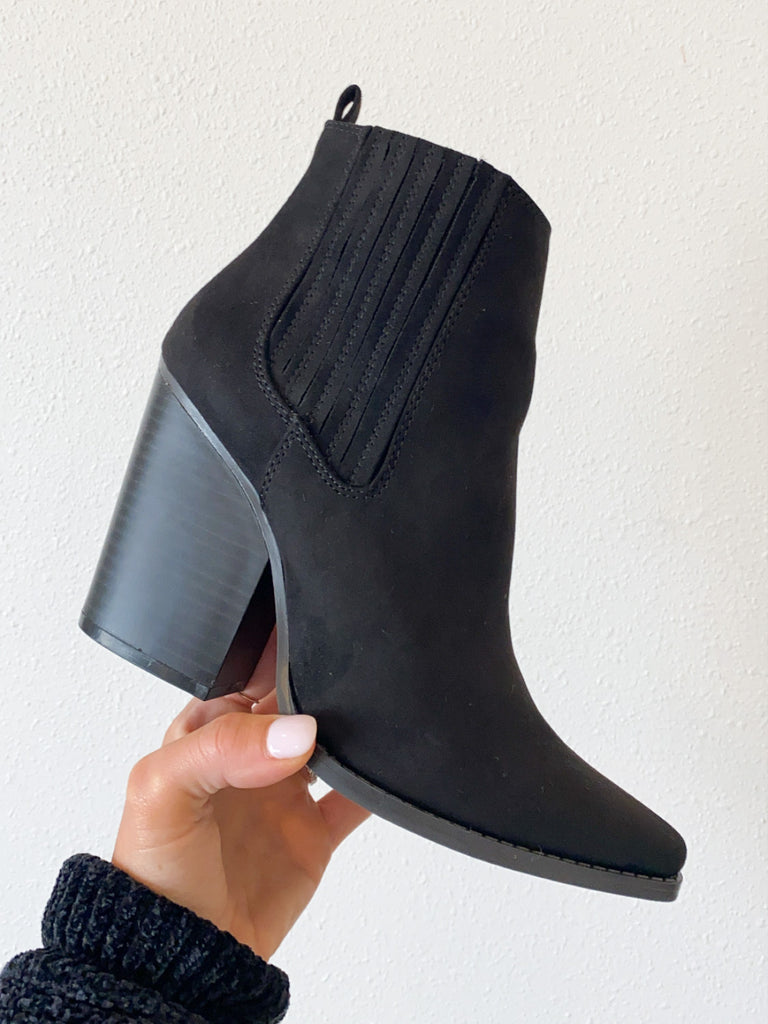 Emerson Bootie | Black | FINAL SALE