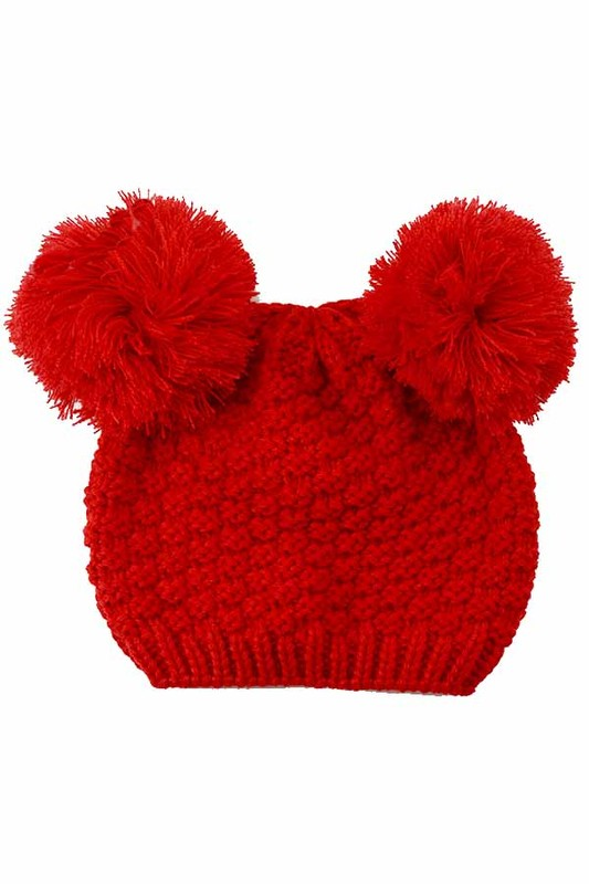 Double Pom Beanie | 2 Colors