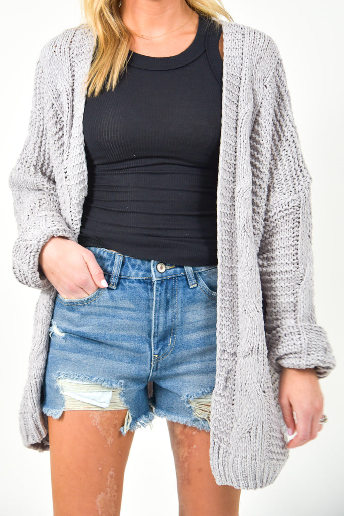 Romeo Distressed Denim Shorts