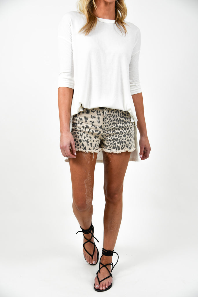 Wilder Leopard Shorts