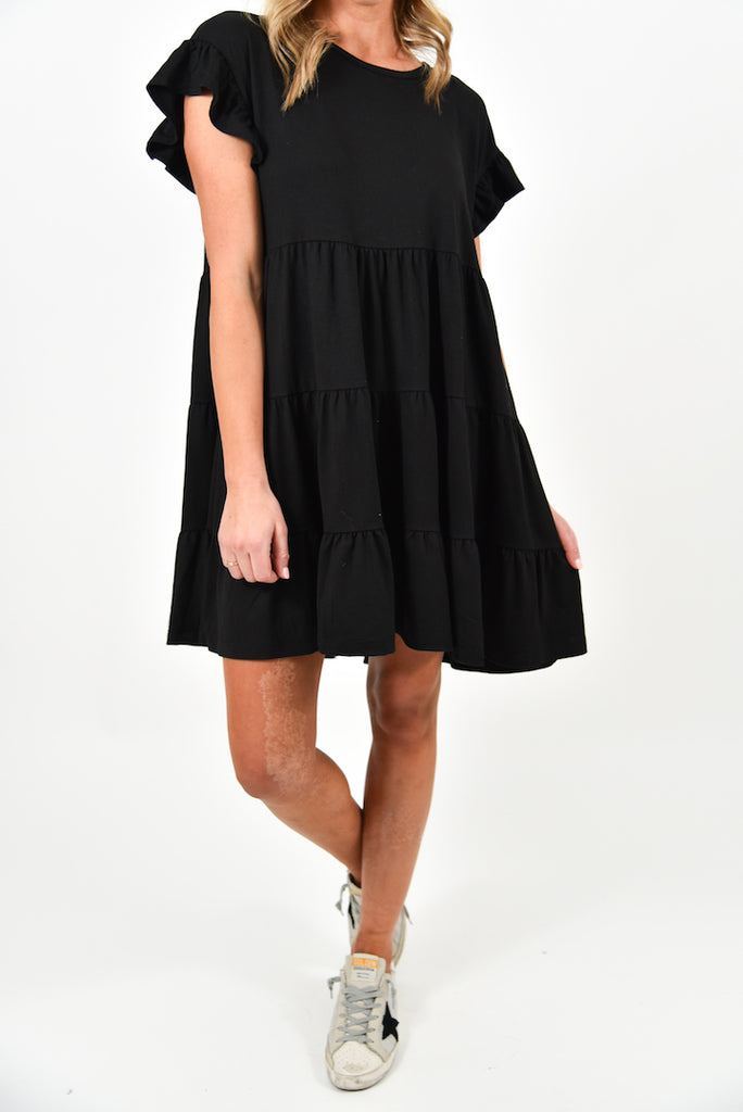 Simone Dress | Black