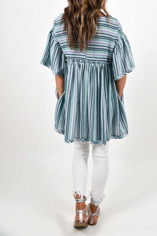 Caroline Striped Tunic | FINAL SALE