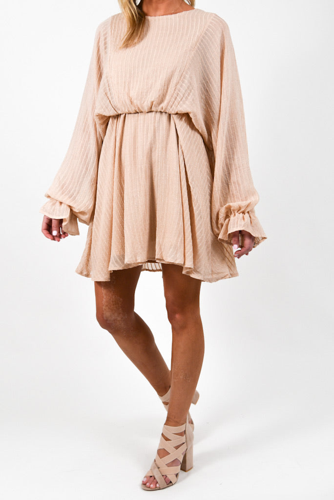 Brentwood Mini Dress | Ivory
