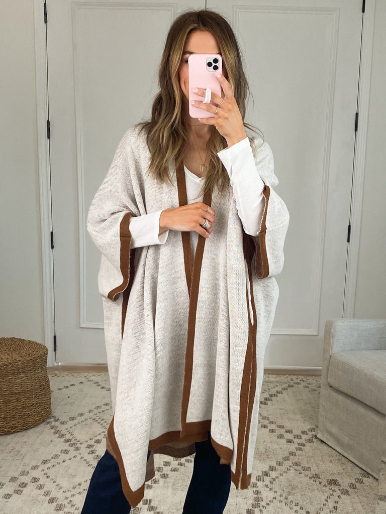 Timber Poncho