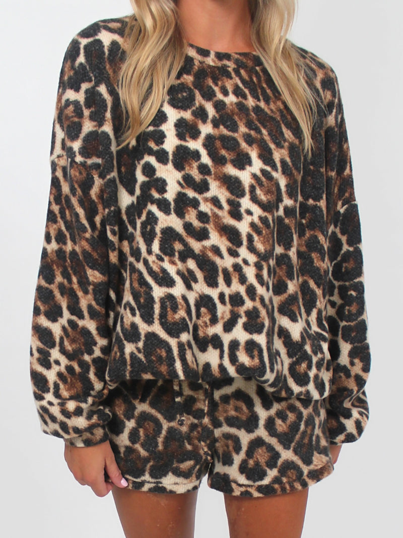 Leopard Soft Knit | PULLOVER