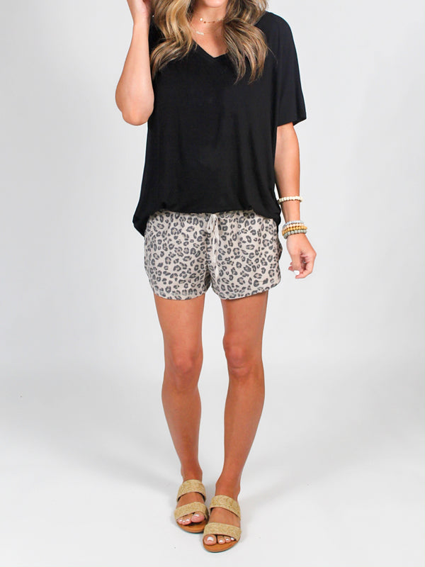 Wild Side Shorts | Taupe