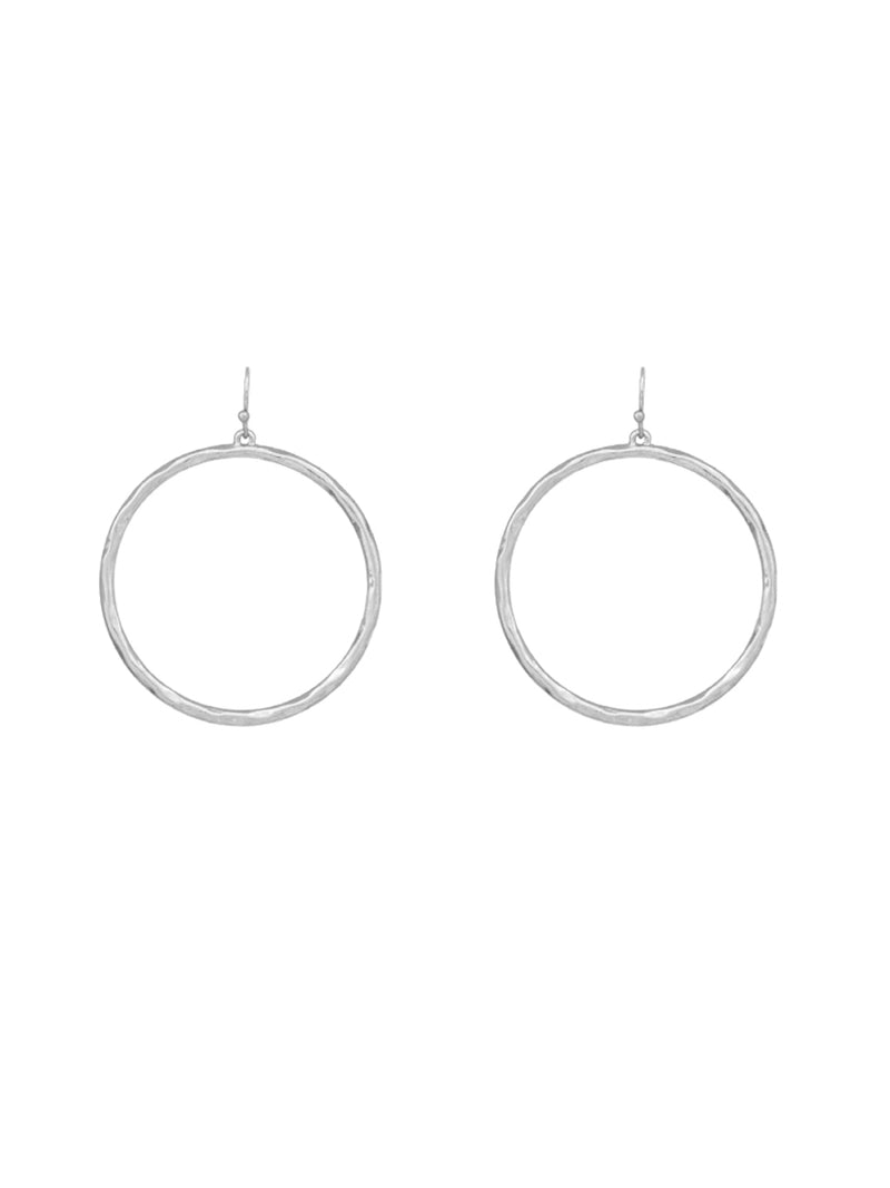 All Around Hoop | Silver