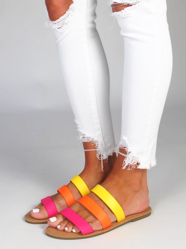 Fruit Stripe Slides