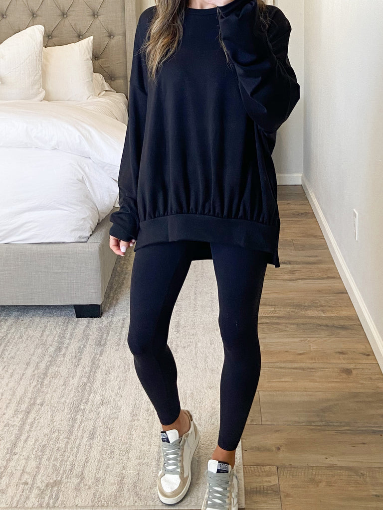 Comfy Pullover | Black | +Plus Available
