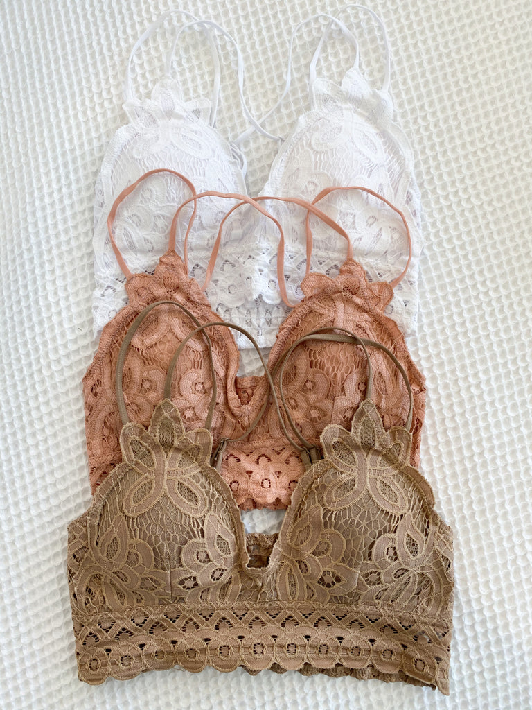 Second to None Bralette | Taupe