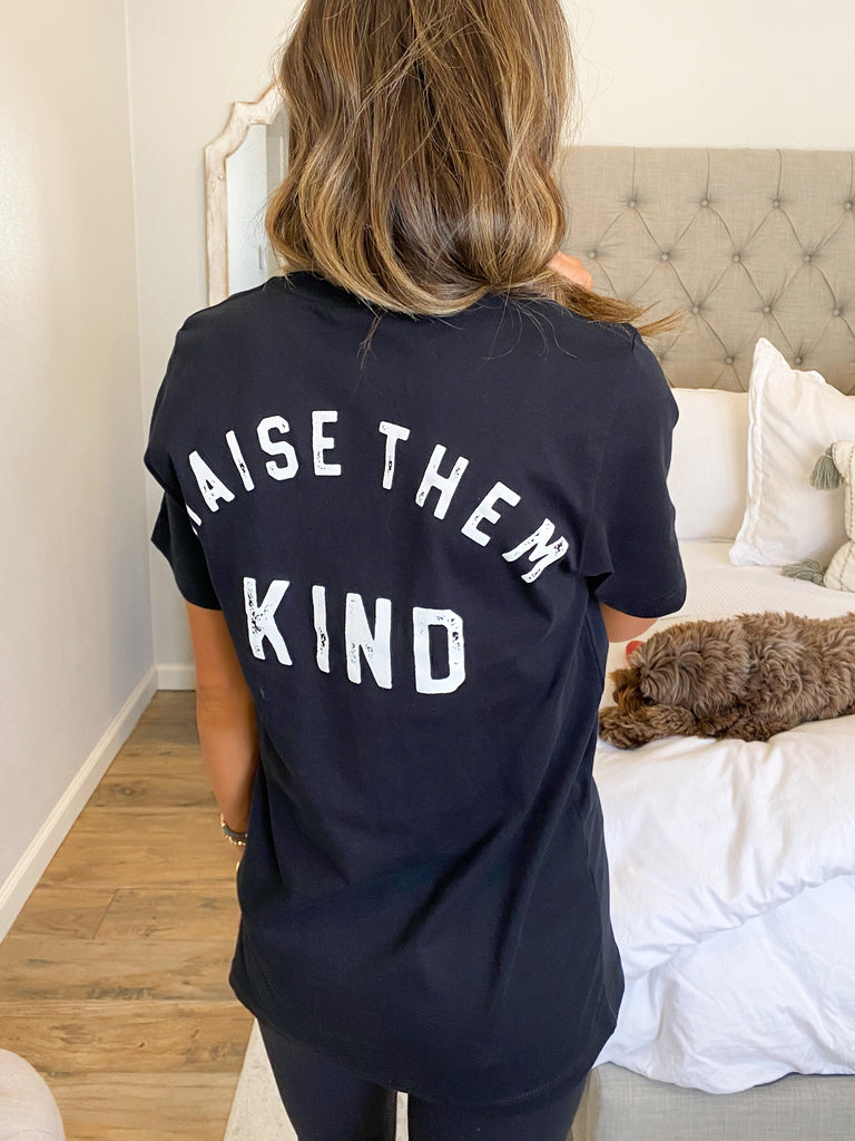 Mama Raise Them Kind Graphic Tee | +Plus Available
