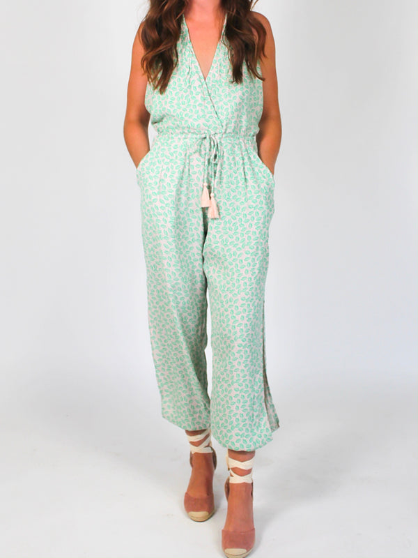 Take Me Away Halter Jumpsuit