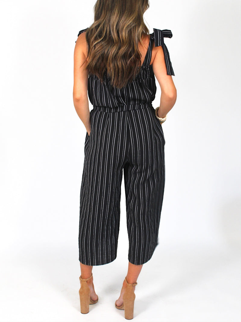 Jessie Jumpsuit | Black | FINAL SALE
