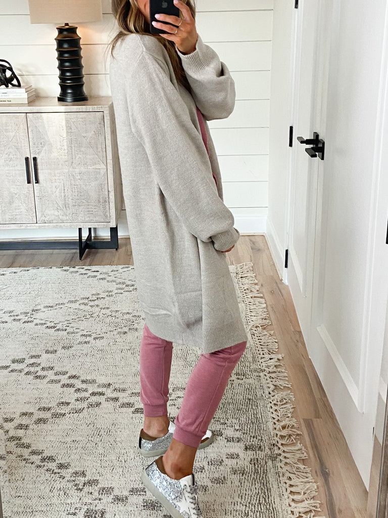 Campus Cardigan | Oatmeal