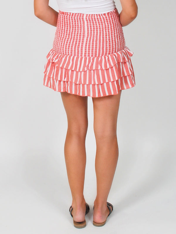Parade Ruffle Skirt | FINAL SALE