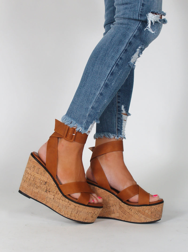 Simpson Wedge | Camel