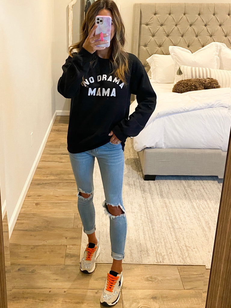 No Drama Mama Pullover | +Plus Available