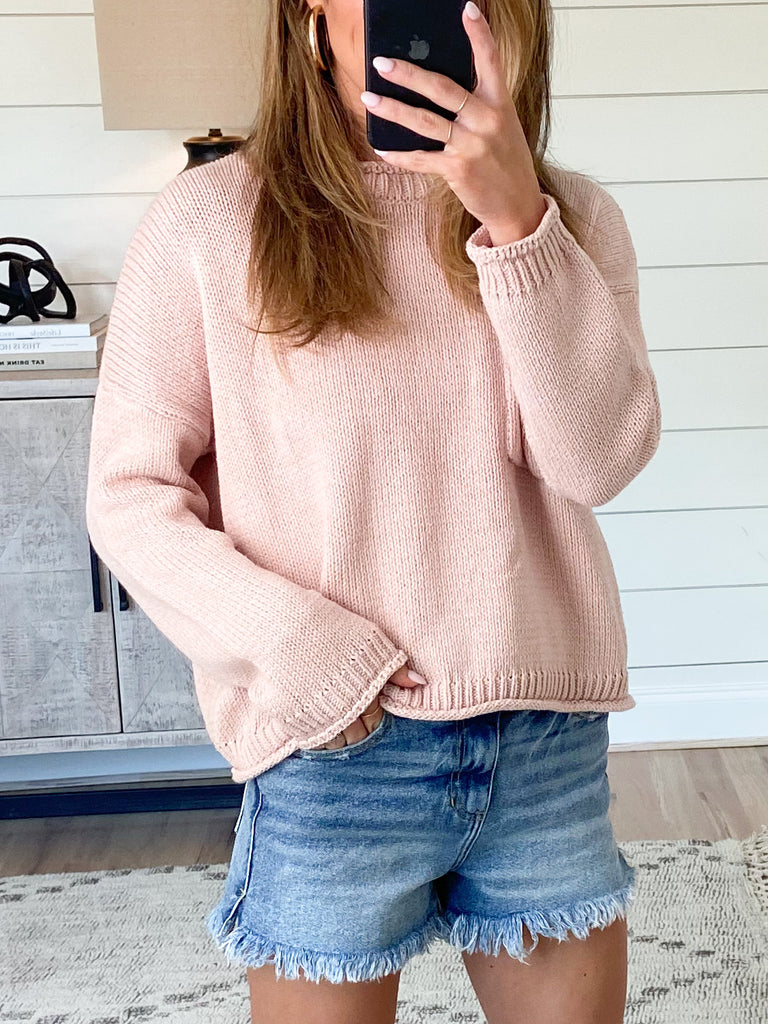Only Love Sweater | Blush