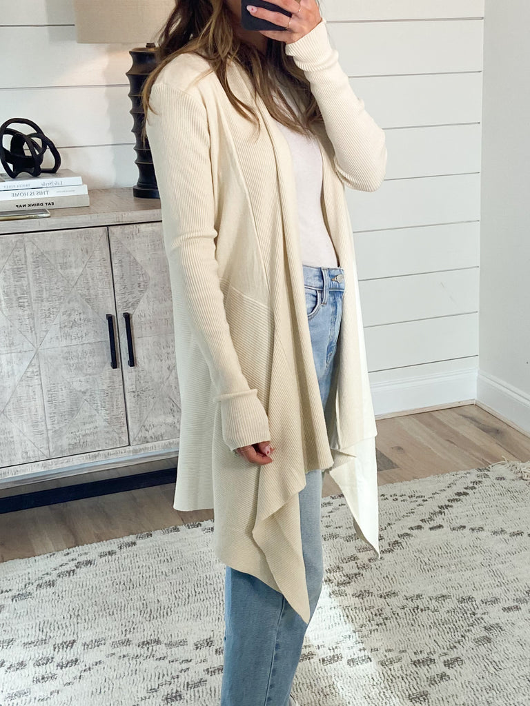 Perri Ribbed Cardigan