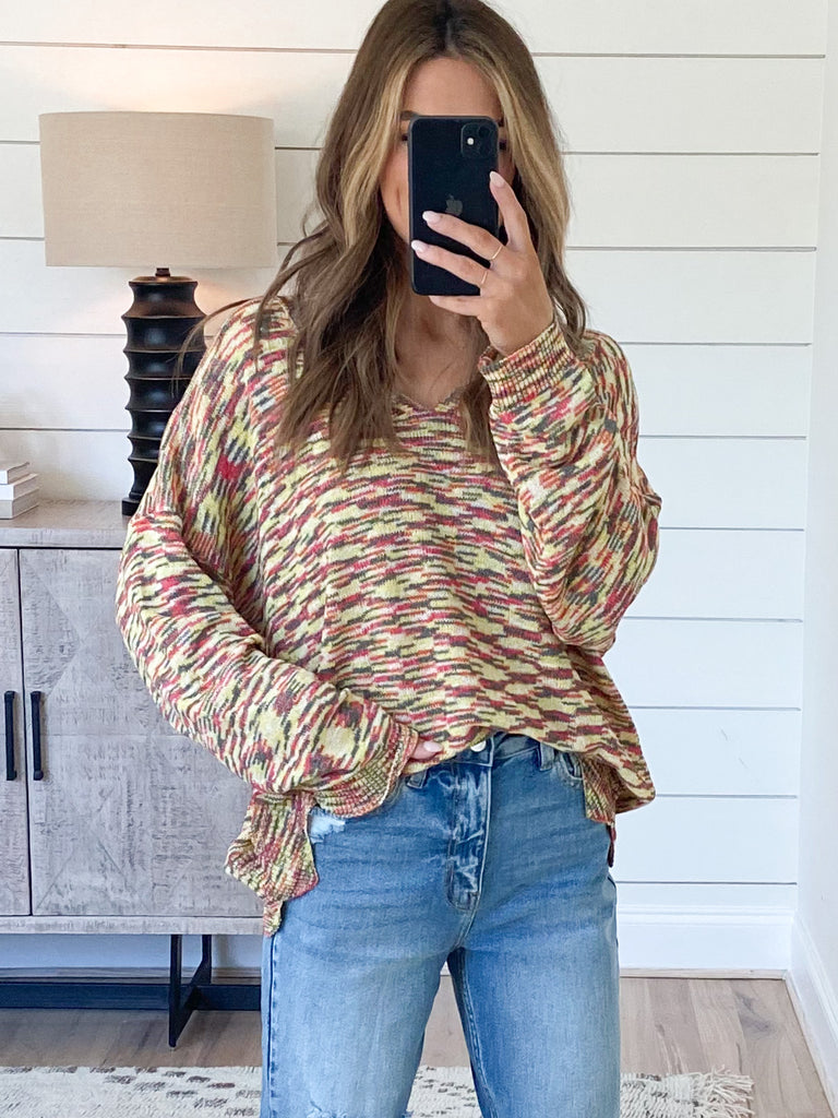 Cass Scalloped Sweater
