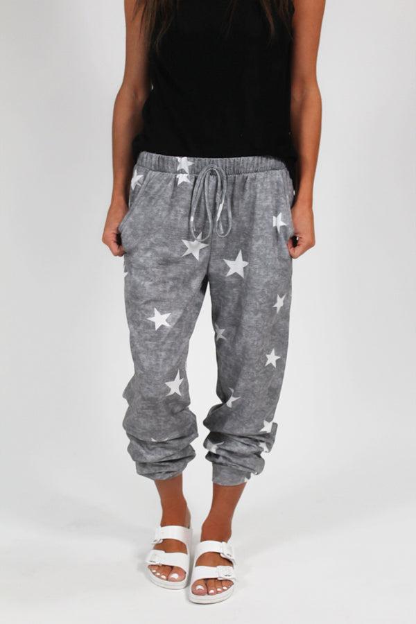 Burnout Star Joggers