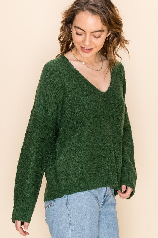 McCoy Sweater | Dark Green