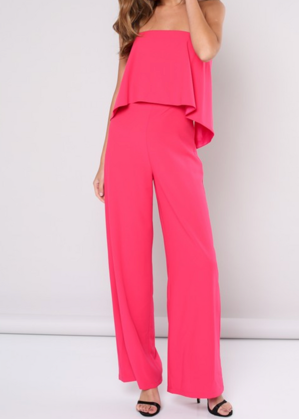 The Jumpsuit | Hot Pink