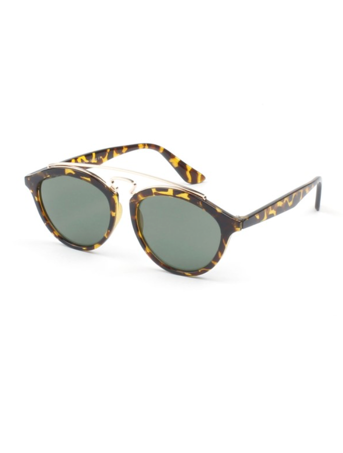 Bar Top Sunglasses | Tortoise