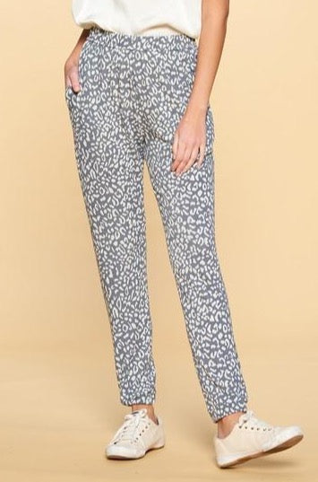 All The Time Leopard Joggers | +Plus Available