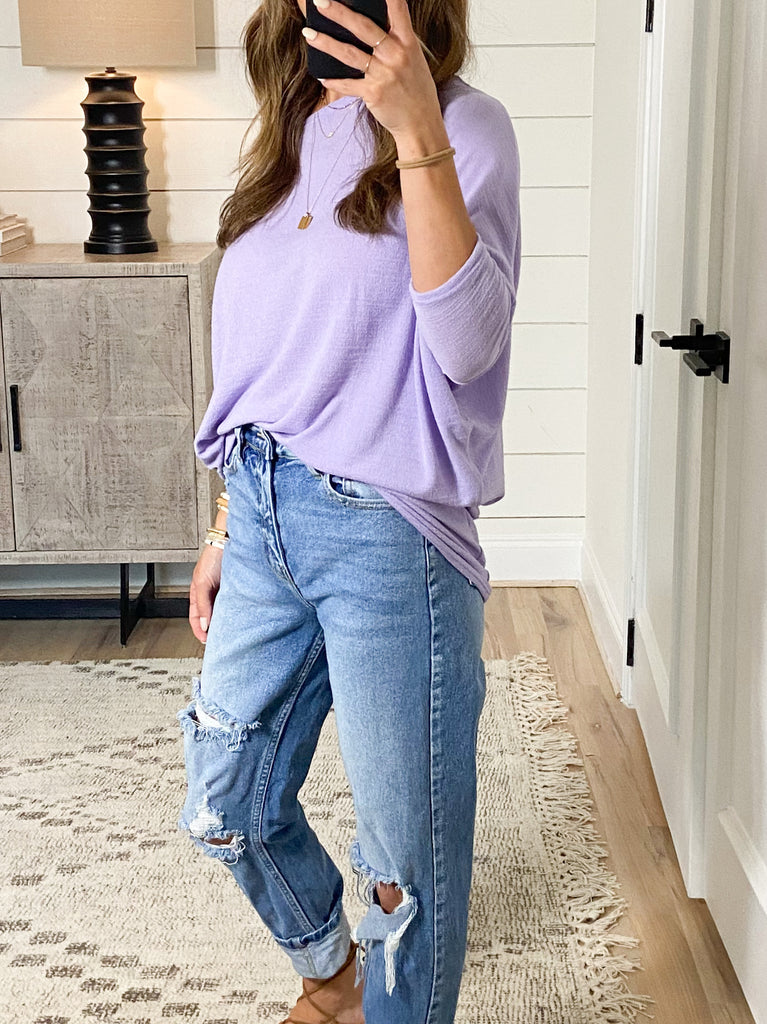 Favorite Tunic Top | Lavender | +Plus Available