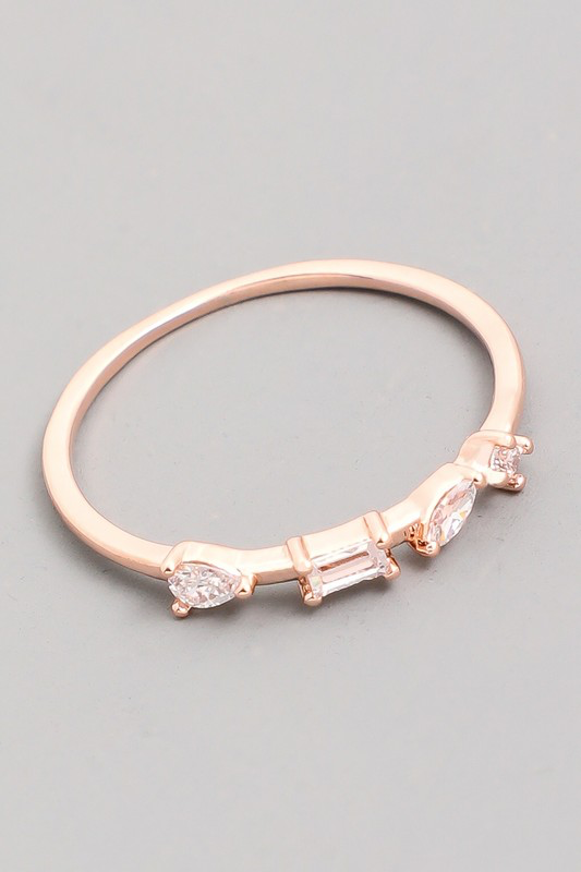 Delicate Stackable Ring | Rose Gold