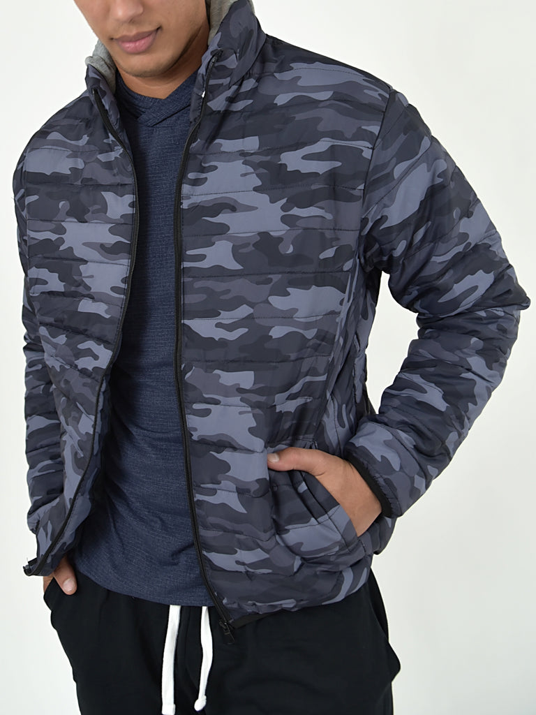 Reynolds Camo Jacket | TAL | Blue | FINAL SALE